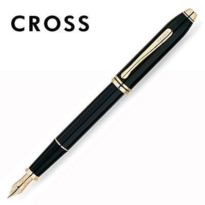 缺貨中 CROSS Townsend 濤聲系列 576-FD 黑琺瑯鋼筆 / 支