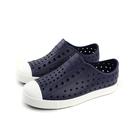 native JEFFERSON 洞洞鞋 深藍色 中童 童鞋 12100100-4201 no757