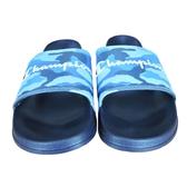 Champion 男女款迷彩藍黑底休閒涼拖鞋-NO.91-3250293