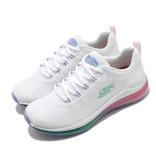 Skechers 慢跑鞋 Skech-Air Element 2.0-Marvelous Prize 白 彩色 女鞋 氣墊 運動鞋 【ACS】 149402WMLT