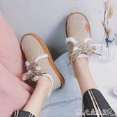 棉鞋女冬韓版百搭學生加絨冬季小短靴短筒雪地棉秋冬女鞋 CR水晶鞋坊