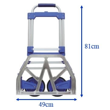 【精捷順】鋁製折疊手推車p03i-0001 (100kg)