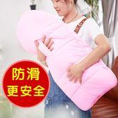 嬰兒抱被睡袋春秋用品新生兒四季包被純棉加絨防踢被 名稱家居館