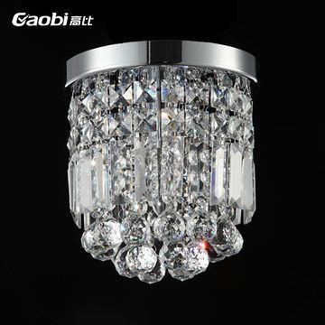 水晶吸頂燈玄關走廊燈門廊燈過道燈臥室燈飾客廳燈具