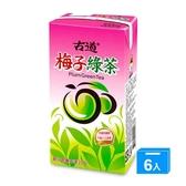 古道梅子綠茶300ml*6【愛買】