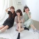 涼感冰絲長版T恤/連身睡裙-BAi白媽媽【316124】