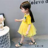 女寶寶夏裝裙子0-1-2歲連身裙