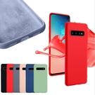 88柑仔店~三星S10手機殼S10plus液態硅膠軟S9超薄note9全包S8plus創意保護套NOTE8