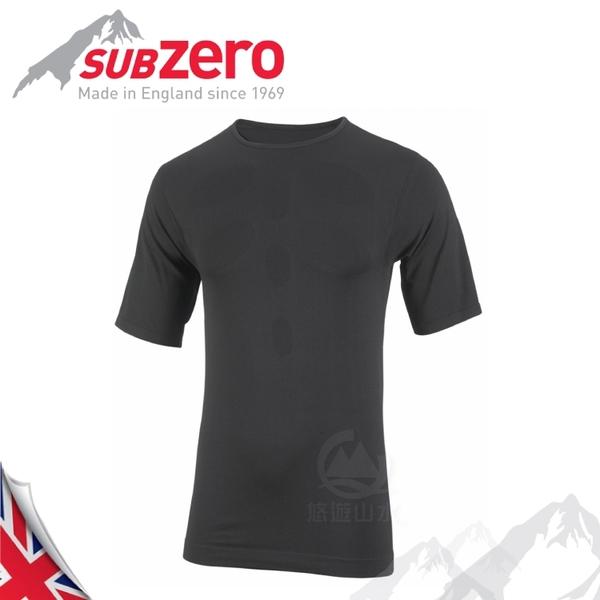 【Sub Zero 英國 ALL ACTIVE 短袖排汗衣《黑》】ALL ACTIVE/內層衣/運動衣/防曬