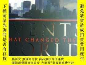 二手書博民逛書店英文原版罕見Events that changed the Wo