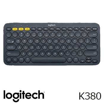 LOGITECH羅技 K380 多功能藍牙無線鍵盤 三個藍牙裝置可切換使用 (Win/Android/iOS)