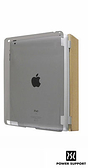 【A Shop】 POWER SUPPORT Air Jacket保護殼 iPad2專用(透明黑)