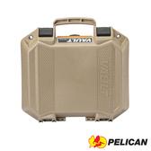 美國 PELICAN 派力肯 塘鵝 Vault系列 V100C 氣密箱 含泡棉 沙漠黃色 公司貨