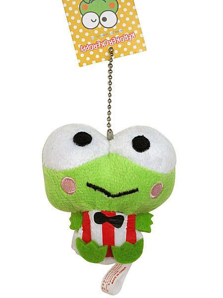 【卡漫城】 大眼蛙 迷你 吊飾 ㊣版 絨毛玩偶 裝飾品 青蛙 鑰匙圈 掛飾 娃娃 Keroppi 可洛比 珠鍊