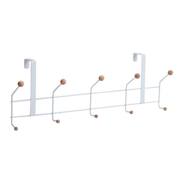 收納架/置物架/多功能置物架/掛架 門後掛鉤置物架(10勾) dayneeds