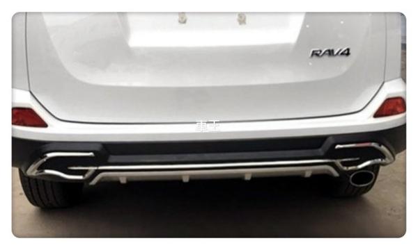 【車王小舖】豐田 Toyota RAV4 後保桿 保護桿 防撞桿 運動款 競技版