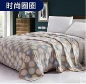 幸福居*毯子冬季珊瑚絨毯法蘭絨毛毯加厚保暖床單法萊絨蓋毯雙人單人學生(2*2.3米)