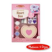 美國瑪莉莎 Melissa & Doug 美勞創意 DIY 木製愛心珠寶盒