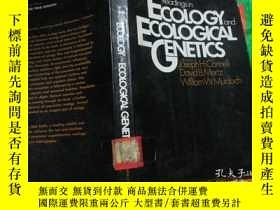 二手書博民逛書店Readingsin罕見ECOLOGY and ECOLOGIC