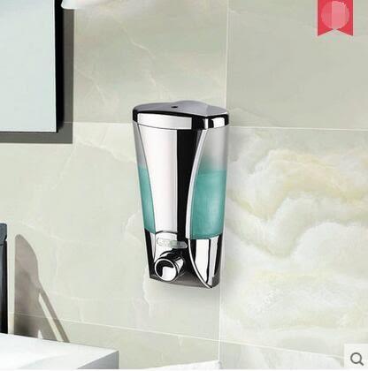手動皂液器壁掛洗手液盒浴室洗髮水沐浴露盒給皂器
