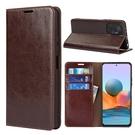紅米 Note10 Pro 手機殼 真皮保護套 手機套 全包插卡軟殼 翻蓋錢包式皮套
