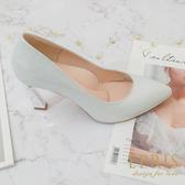 現貨 優雅曲線 時尚美鞋 手作婚鞋推薦 好走不磨腳時尚好搭配 21-26 EPRIS艾佩絲-時尚銀