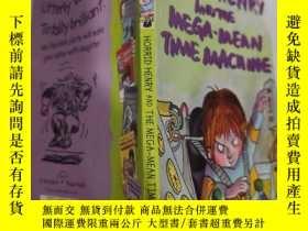 二手書博民逛書店horrid罕見henry and the maga mean time machine 可怕的亨利和maga平均