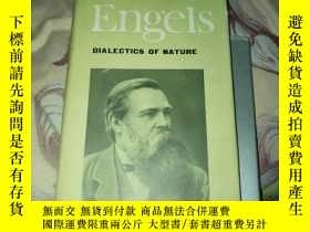 二手書博民逛書店ENGELS罕見DIALECTICS OF NATURE【精裝本