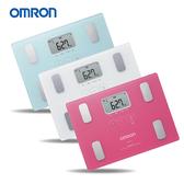 HBF-216+熱銷面膜乙片+隨機小贈品 OMRON體脂計 最新(HBF-212升級版) 白/紅/藍【醫妝世家】