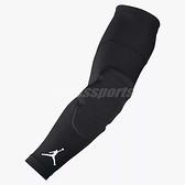 【六折特賣】Nike 臂套 Jordan Padded Elbow Sleeve 手肘 黑 白 籃球 防撞 型 單支入 【ACS】 JKS00-010