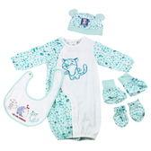 【愛的世界】斑點兩用嬰衣禮盒/3M~6個月-台灣製- ★禮盒推薦