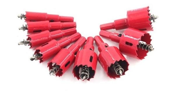 台灣出貨 萬評賣家 秒殺價 雙金屬開孔器 木工開孔器 30-40mm 鐵板 木板 PVC板 挖孔 鑽孔神器