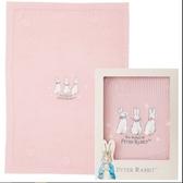 【奇哥】恬靜比得兔洞洞棉毯禮盒-粉色