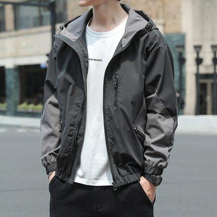 潮牌男士外套2021新款春季上衣韓版潮流棒球服春秋工裝休閑夾克型男時尚百搭