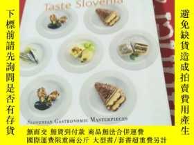 二手書博民逛書店taste罕見slovenia(菜譜)Y8088 taste s