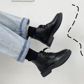 短靴馬丁靴女夏季薄款新款百搭短靴平底英倫風黑色女靴子潮秋鞋(免運速發)