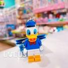 正版 LEGO 樂高鑰匙圈 迪士尼 唐老鴨 黛西 人偶鑰匙圈 鎖圈 吊飾 唐老鴨款 COCOS FG280