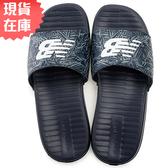 【現貨】New Balance 女鞋 男鞋 拖鞋 休閒 輕量 花卉 迷彩 深藍【運動世界】SDL130NB