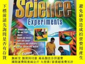 二手書博民逛書店Science罕見Experiments:科學實驗Y212829