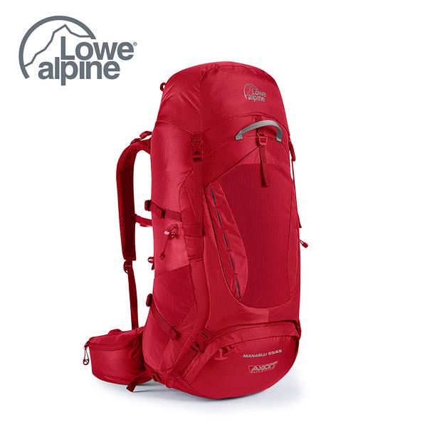 Lowe Alpine AXIOM Manaslu ND 55:65 背負系統 重裝後背包 氧化鉛紅 #FBP84