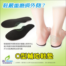 o型腿輔助鞋墊 服貼腳底舒適升級 避免鞋外側磨損率╭*鞋博士嚴選鞋材