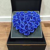 聖誕節狂歡永生花禮盒玻璃罩七夕節禮物小王子的玫瑰花送女友生日禮品 芥末原創