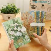 筆記本加厚硬面清新韓國日記本【洛麗的雜貨鋪】