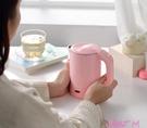 日本110V便攜式燒水壺小迷你折疊水壺旅行電熱水壺小容量出國旅行 JUST M