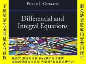 二手書博民逛書店Differential罕見And Integral Equations (oxford Handbooks)
