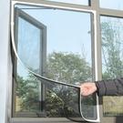 【防蚊紗窗DIY自粘型120*200公分 LA043】NO135非磁鐵型防蚊門簾【八八八】e網購