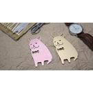 【收藏天地】創意小物*鋁合金質感書籤-鬥牛犬系列 (2色) / 藏書夾 生活文具 禮品 文青