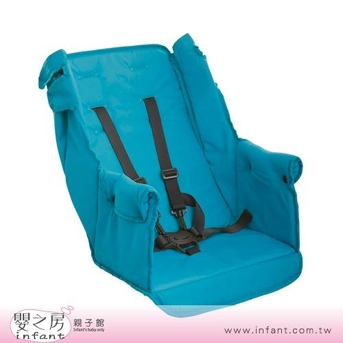 【嬰之房】Joovy Caboose Ultralight Graphite 雙人手推車第二座椅(藍綠)