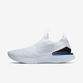 Nike Epic Phantom React Fk [BV0417-101] 男鞋 運動 休閒 輕量 情侶 襪套 白藍