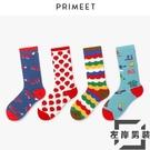 5雙裝 襪子潮中筒襪學院風原宿日系街頭長筒堆堆襪【左岸男裝】